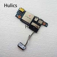 Hulics-conector de Audio USB Original, ranura SD para LENOVO Y50, Y50-70, ZIVY2, ZIVY3, LS-B113P, funciona