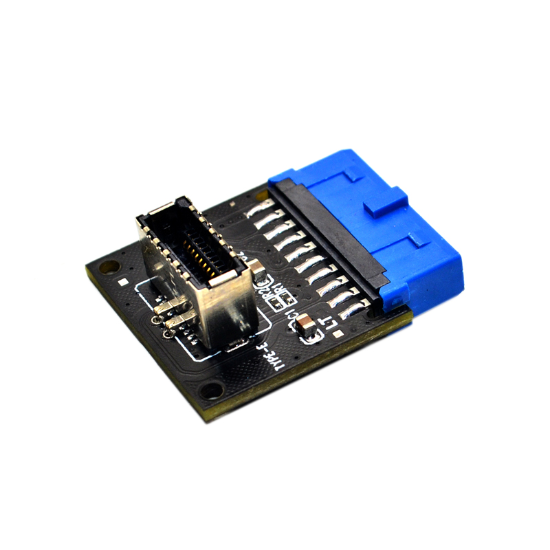 Computer Connectors USB 3.1 Front Panel PC Socket to USB 3.0 20Pin Header Extension Adapter for ASUS Motherboard PW-INC1TR 3