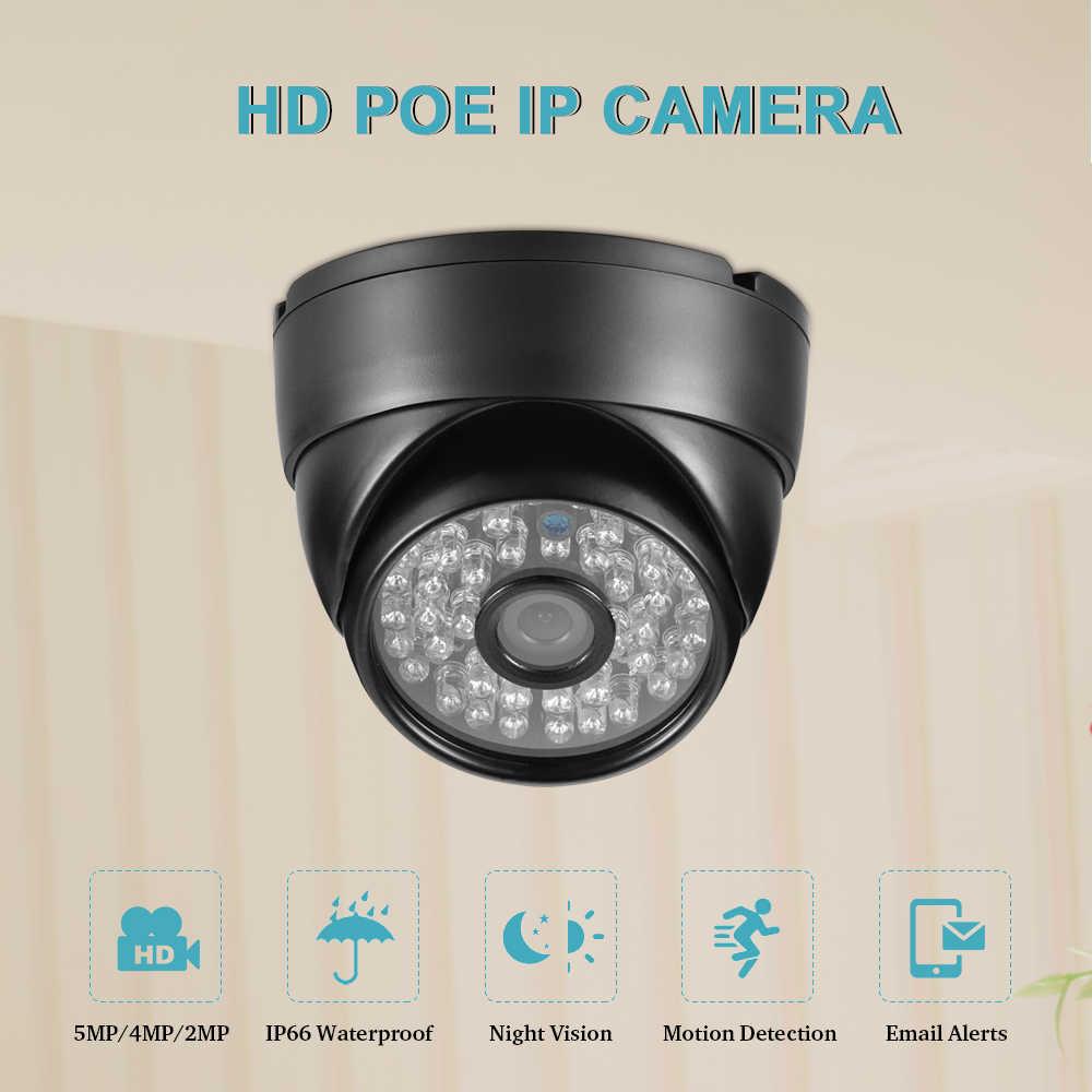 "AZISHN Metal H.265 + 5MP 1/2. 8 ""سوني IMX335 ONVIF الصوت 48IR 30 متر للرؤية الليلية في الهواء الطلق/داخلي CCTV الأمن كاميرا فيديو 2MP/4MP"