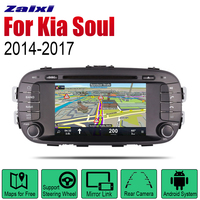 ZaiXi Auto Radio 2 Din Android Car DVD Player For Kia Soul 2014~2017 GPS Navigation BT Wifi Map Multimedia system Stereo