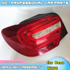Image 4 - car accessories for Mercedes Benz W176 taillight lamp 2014 2015 for A180 A200 A220 A260 led rear lamp led taillight