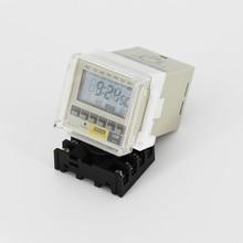Pinuslongaeva Factory outlet High quality LED Digital display Timer Cycle time relay AC380V 220V 110V 36V 24V 12V DC12V 24V стоимость