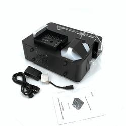 2000W przeciwmgielne LED maszyna pionowa maszyna do dymu z 24x9W światła LED RGB maszyna do dymu/profesjonalny/a Fogger dj etap sprzęt w Oświetlenie sceniczne od Lampy i oświetlenie na
