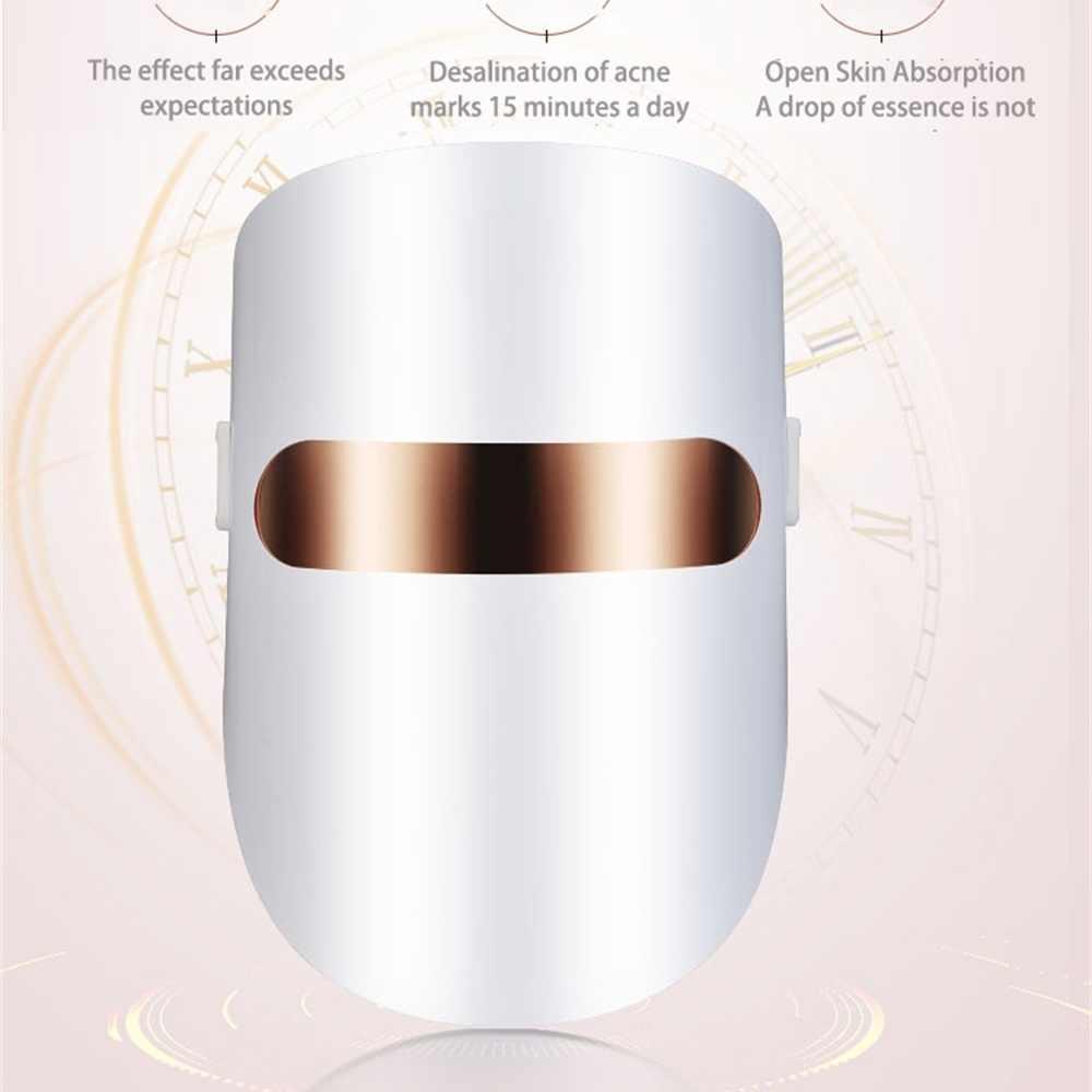 LED หน้ากาก Purge Belleza ฟื้นฟูผิวหน้า Masque Photon LED หน้ากากใบหน้า Light Therapy ริ้วรอยสิวความงามเครื่องมือ