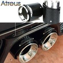 Embout d'échappement en Fiber de carbone, accessoires de voiture de qualité supérieure, pour Mini Cooper F54 F55 F56 F57 R60 R61 F60 R55 R56 R57 R58 R59 S JCW