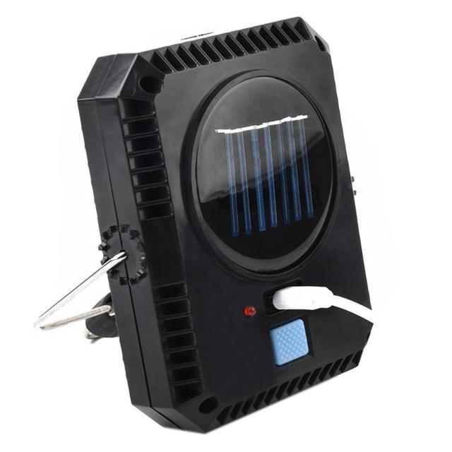 Portable Lantern Camping Light USB Solar Charging Flashlight Camping Tent Light Outdoor Portable Hanging Lamp Solar LED Lantern 5