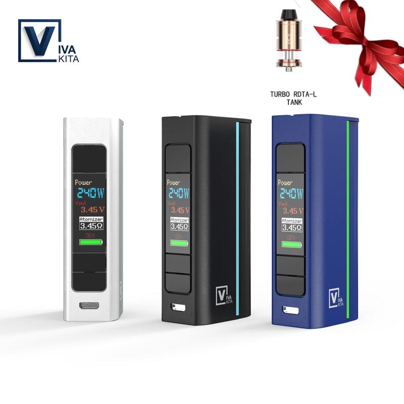 Viva-kita Move Grand TC 80W Vape Mod Various Mode E Cigaretes Mod 0.91