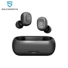 SoundPEATS Truefree TWS Bluetooth kulaklık Mini görünmez 3D HiFi Stereo Bluetooth 5.0 kablosuz kulaklık kulaklık