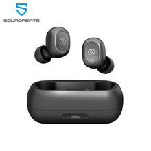 Soundpeats Truefree Tws Bluetooth Oortelefoon Mini Onzichtbare 3D Hifi Stereo Bluetooth 5.0 Draadloze Koptelefoon Headset