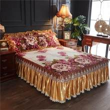 Velours plus doux ensemble de couverture de lit 3/5 pièces Twin Queen King size ensemble de literie(China)