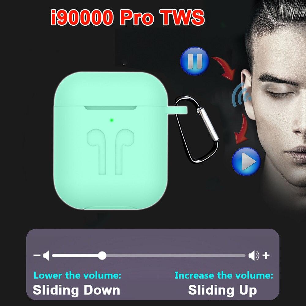 I90000 TWS écouteur sans fil Air 2 avec boîtier de charge à aimant inversé Bluetooth 5.0 écouteurs écouteurs PK i500 i2000 i5000 i900TWS