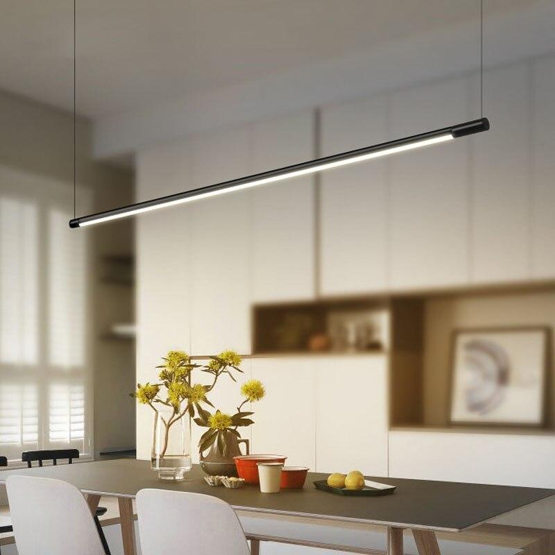 Modern Minimalist LED Pendant Light Aluminum Pendant Light Dinning Room Restaurant Bar Hanging Lamp