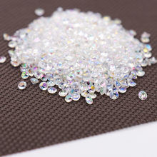 1000PS 4.2 MM Acrylic Diamond Confetti Pernikahan Dekorasi Kerajinan Diamond Confetti Tabel Menyebarkan Jelas Centerpiece Pesta(China)