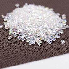 1000PS 4,2mm acrílico diamante confeti boda decoración artesanías diamante confeti Mesa Scatters claro cristal centro de mesa fiesta