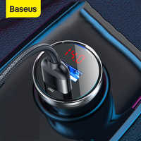 Baseus-cargador USB de carga rápida para coche, carga rápida 4,0, 45W, para Huawei SCP, Xiaomi 9, QC 4,0, 3,0, PD 3,0
