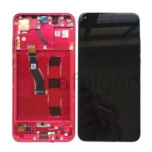 Image 2 - Trafalgar Display Für Huawei Ehre Ansicht 20 LCD Display V20 PCT L29 Touchscreen Für Honor Ansicht 20 Display Mit Rahmen ersatz
