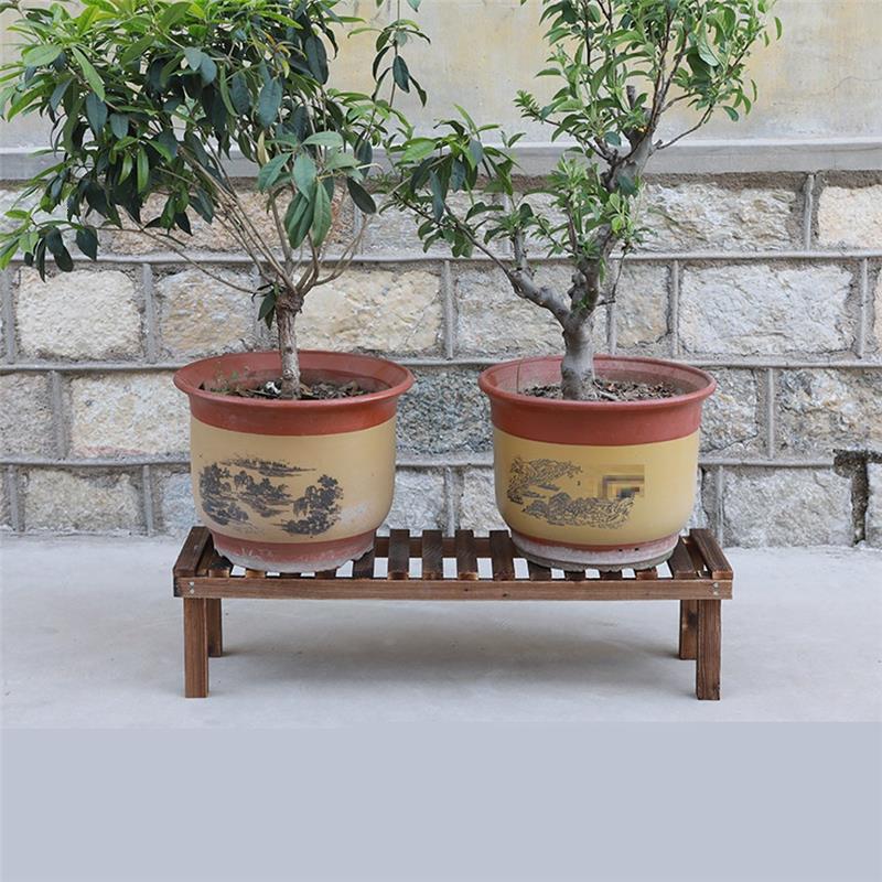 Madera Jardin Estanteria Plantas Etagere Pour Plante Saksi Standi For Rak Bunga Balcony Dekoration Plant Rack Shelf Flower Stand