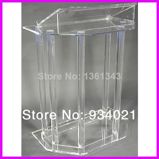 Hot SellingHandmade Clear Cheap Acrylic Lectern