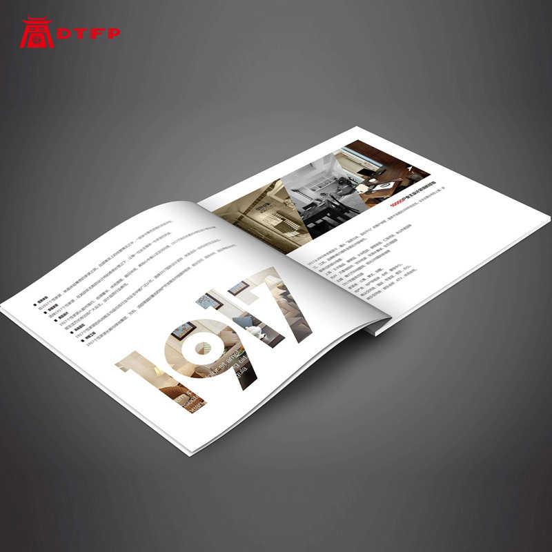 Buch drucken hardcover album flyer druck produkt handbücher nach unternehmen broschüren corporate folding probe buch broschüre broschüre