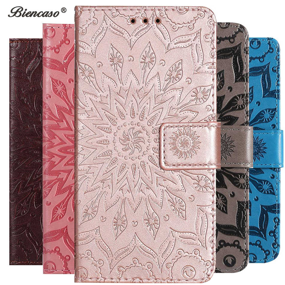 Sunflower Flip Card Slot Wallet Telefon Fall Für LG K8 K9 K10 K11 2018 Aristo 2 Plus Stylo 4 G3 g4 mini G6 G7 G8 ThinQ Abdeckung