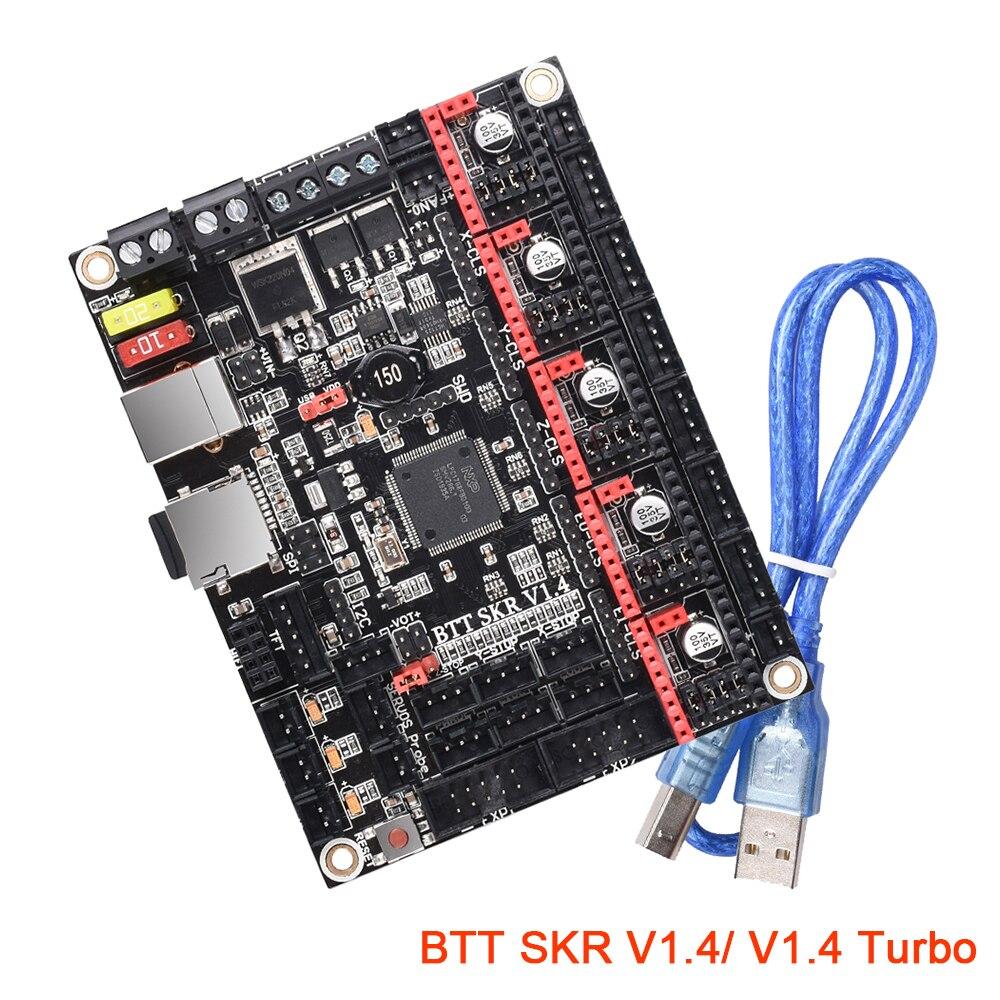 BIGTREETECH BTT SKR V1.4 & V1.4 Turbo Motherboard 32 Bit TMC2209 UART TMC2208 3D Printer Control Board SKR V1.3 TFT35 Panel MKS