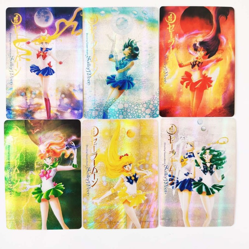 10pcs/set Sailor Moon Full Edition Cover Bronzing  Sexy Beauty Hobby Collectibles Game Collection Anime Cards Limit Sexy Girl