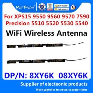 Image 1 - New WiFi Wireless Antenna For Dell XPS15 9550 9560 9570 7590 Precision 5510 5520 5530 5540 M5510 M5520 M5530 M5540 8XY6K 08XY6K