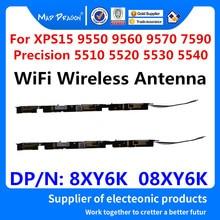 חדש WiFi אלחוטי אנטנה עבור Dell XPS15 9550 9560 9570 7590 דיוק 5510 5520 5530 5540 M5510 M5520 M5530 M5540 8XY6K 08XY6K