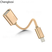 Micro USB OTG Cable Adapter for Xiaomi Redmi Note 5 Connector For Samsung S8 9 Tablet Android 2.0