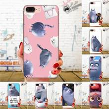 For LG K50 Q6 Q7 Q8 Q60 X Power 2 3 Nexus 5 5X V10 V20 V30 V40 Q Stylus Soft Silicone TPU Transparent Printing Big Fat Cat(China)