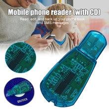 Yeni okuyucu USB SIM kart okuyucu SIM kart yazıcı/fotokopi/Cloner/yedekleme GSM CDMA WCDMA cep telefonu DOM668