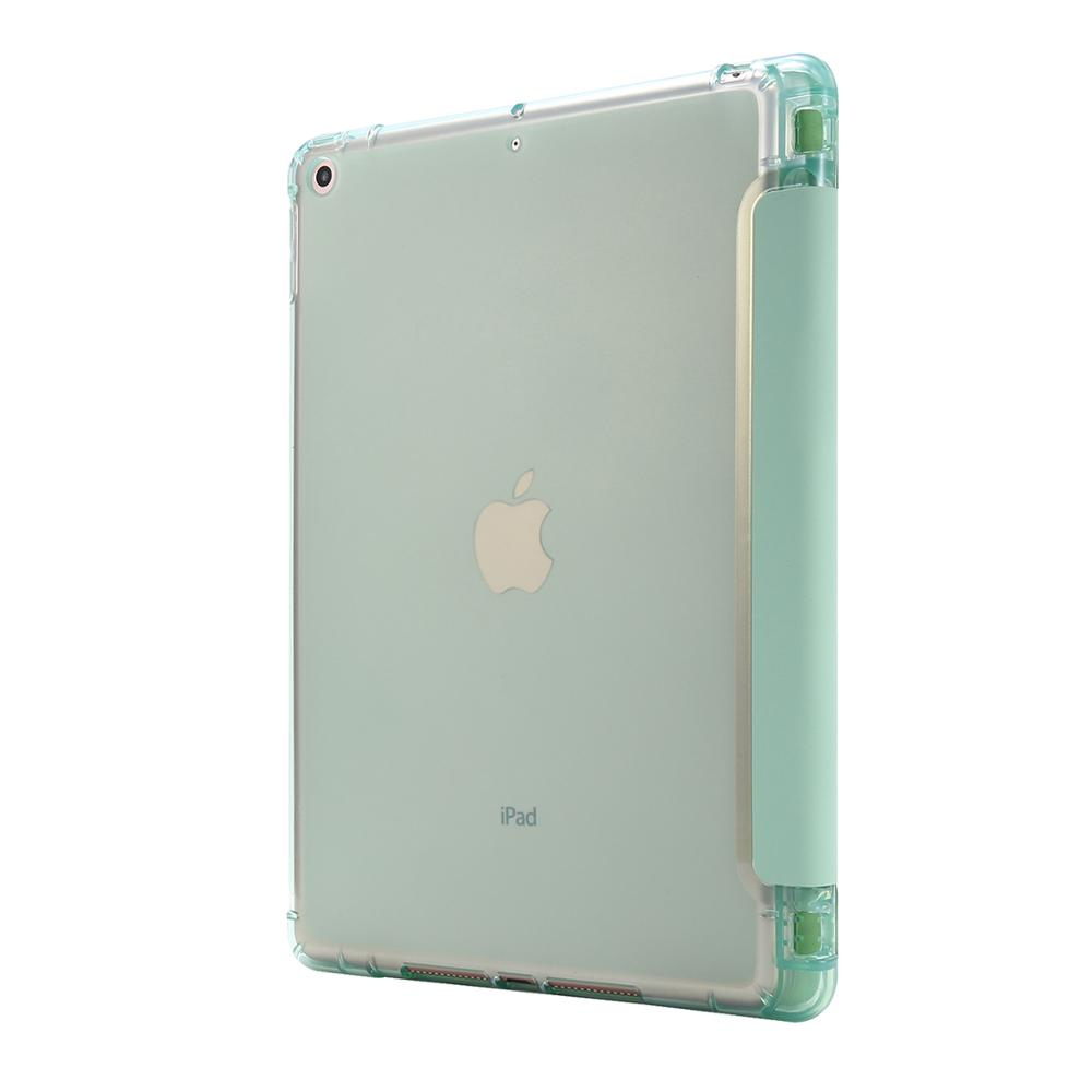 Light Color Folding Cover For Funda iPad 10 2 Case with pencil holder For iPad 10