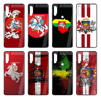 Lithuania Latvia flag Phone case cover hull For Xiaomi Redmi Note S2 4 5 6 7 8 K20 A S X Plus Pro black cover pretty waterproof image
