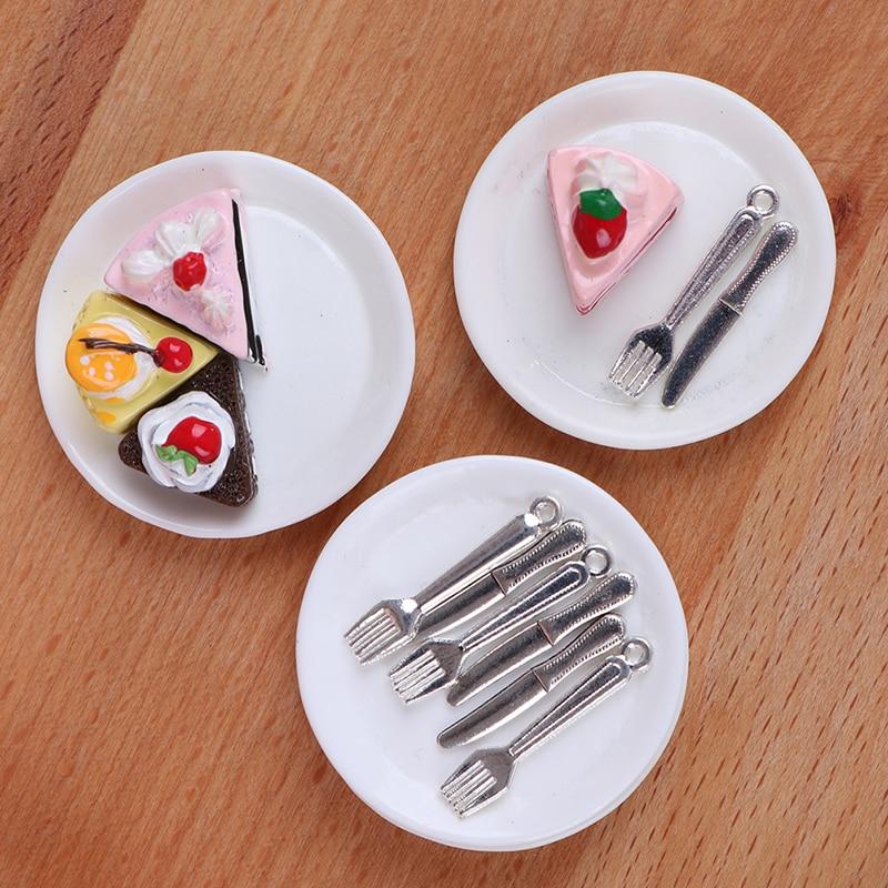 Dollhouse Miniature Pastries-3pcs