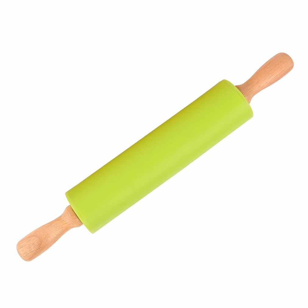 Kitchen Wooden Rolling Pin Fondant Cake Decoration Dough Roller Baking Kitchen Cooking Tools Accessories