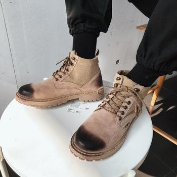 2019 nowe męskie buty męskie buty na co dzień męskie sportowe buty 39-44 oddychające Martin buty sportowe buty męskie tenisowe męskie tanie i dobre opinie NoEnName_Null Skóra Split Gumowe Wiosna jesień Tkanina bawełniana x903 Mokasyny Pasuje prawda na wymiar weź swój normalny rozmiar