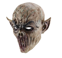 Halloween Horrible Ghastful Creepy Scary Realistic Monster Mask Masquerade Supplies Party Props Cosplay Costumes mcyh masquerade spoof halloween mask props costumes