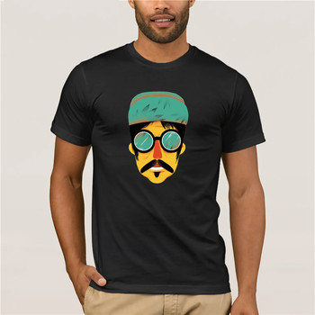 Fashion T Shirt 100% Cotton  shirt Hot Chili Peppers Anthony cartoon t summer t-shirt for Men Tees