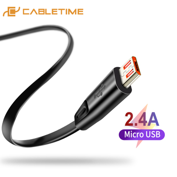 CABLETIME High quality Micro USB Cable USB Cable for Samsung Xiaomi Android USB 2A Charge Cord Micro usb Charger C141