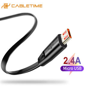 CABLETIME Micro-Usb-Cable Charge-Cord Xiaomi Android Samsung High-Quality for C141 2A