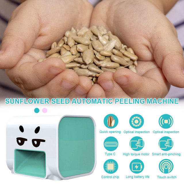 Automatic Melon Seed Machine Electric Melon Seed Machine Seed Shelling Machine Electric Peeler Nut Cracker Tool
