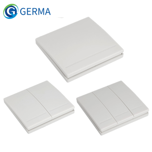 Image 1 - GERMA 86 Wall Panel Wireless Remote Transmitter 1 2 3 Button RF Switch For Light Lamp Bulb Home Living Room Bedroom Corridor