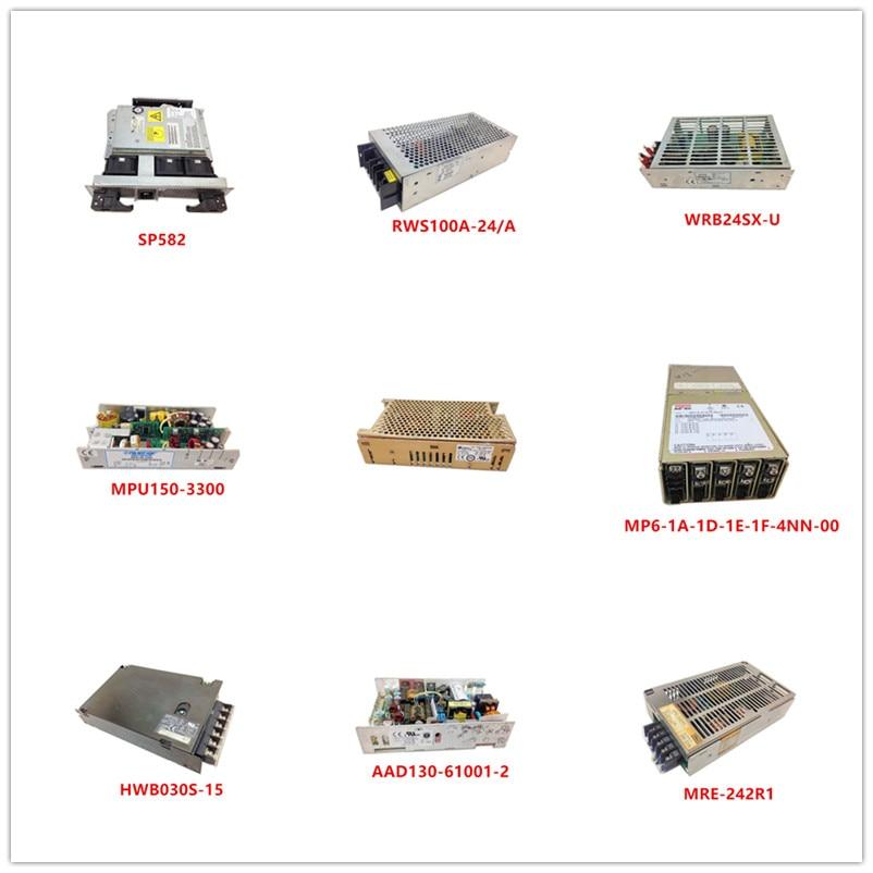 SP582| RWS100A-24/A| WRB24SX-U| MPU150-3300| CE-150-4002NS| MP6-1A-1D-1E-1F-4NN-00| HWB030S-15| AAD130-61001-2| MRE-242R1 Used