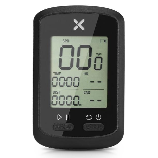 Định Vị GPS Đi Xe Đạp Máy Tính BT Kiến Không Dây Xe Đạp Máy Tính Kỹ Thuật Số Đồng Hồ Tốc Độ IPX7 Chính Xác Xe Đạp Máy Tính Có Nắp Che Bảo Vệ