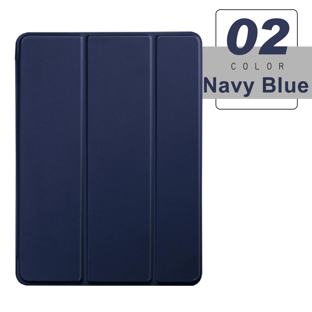 Navy Blue Blue For iPad Pro 11 2021 2020 Flip Tablet Case Stand Smart Cover Funda For pro 11