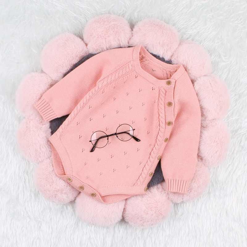 아기 스웨터 신생아 가을 겨울 유아 스웨터 아이 소년 소녀 2019 새로운 스타일 옷 bodysuit 크리스마스 파티 의류 0-18 m