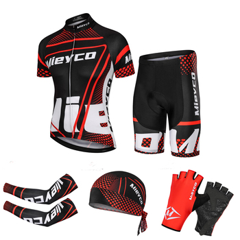Mieyco Cycling Jersey Man MTB Race Clothing Set Mountain Bike Maillot Summer Ropa Ciclismo Clothes Bicycle Wear - discount item  50% OFF Cycling