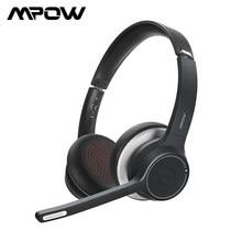 Mpow-auriculares inalámbricos con Bluetooth 5,0, dispositivo de audio mejorado, con cancelación de ruido, CVC8.0, para teléfono, PC, ordenador y oficina, HC5