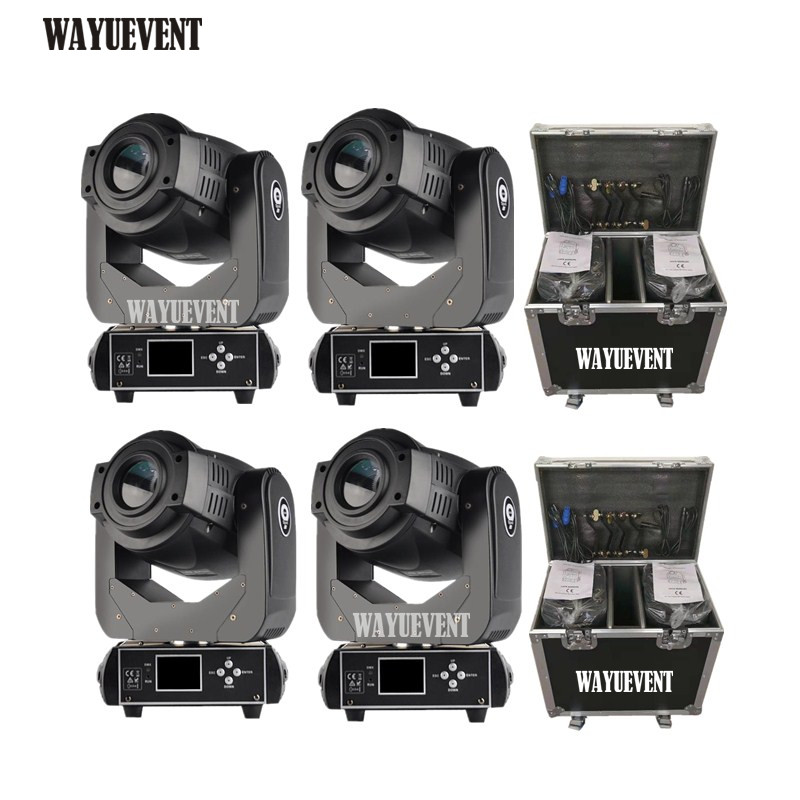 4pcs / Lot Spot Lyre 90W Gobo LED Lyre Moving Head Light Spot Moving Head Light For Stage Theater Disco Nightclub Party