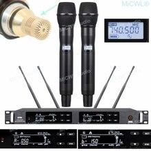 Профессиональная uhf 300 канальная Цифровая беспроводная микрофонная